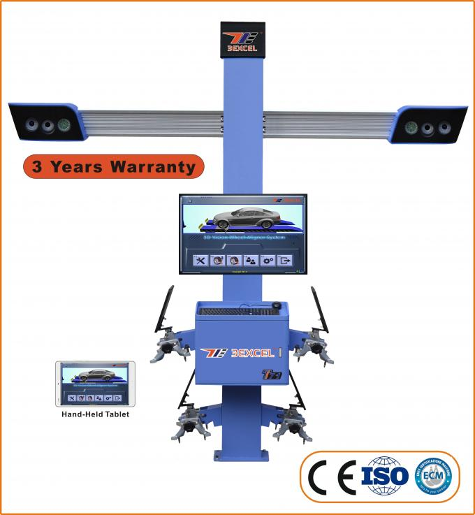 Integrated T71 50-60HZ 3d Wheel Alignment Machine