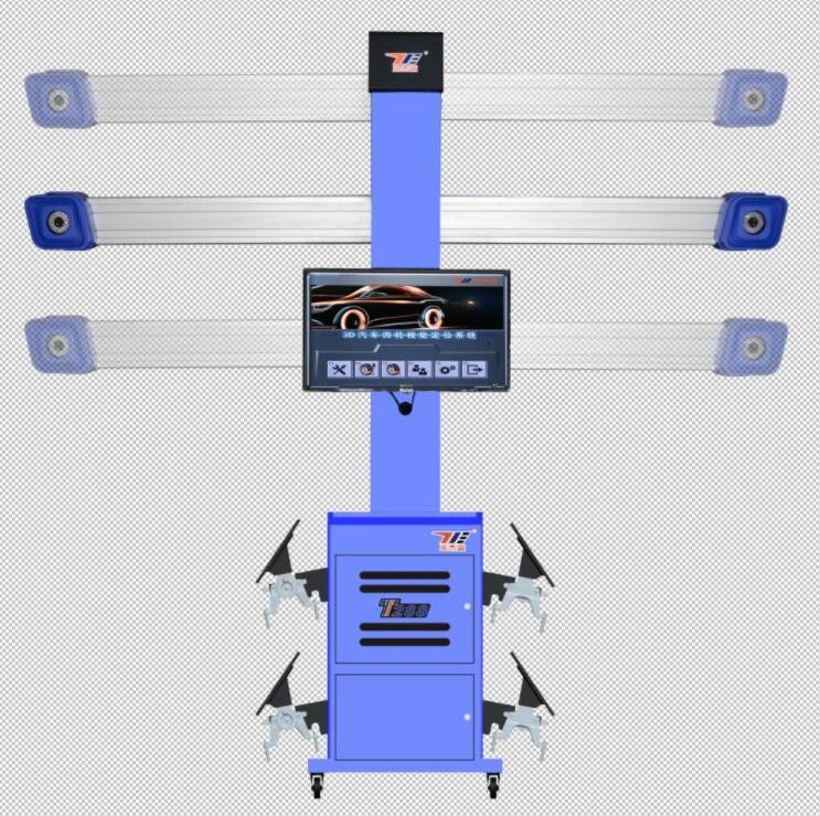 T268 Portable Digital Wheel Alignment Machine Tool With 3d Animation