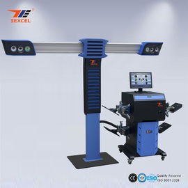 China Precision Camera Car 3D Wheel Aligner , 4 Wheel Thrust Alignment And Balancing Machine distributor