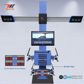 China Two Monitor 3D Front End Alignment Equipment T58 Mobile For Cars With Four Cameras distributor