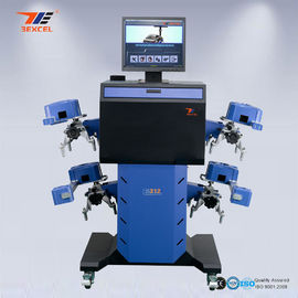 China Quick Track Mobile Wheel Alignment Equipment Electronic Automatic Golden Eye Drive distributor
