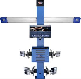 China T258 Four Tire Computerized Wheel Aligner Two Cameras High Accuracy 3d 3EXCEL distributor