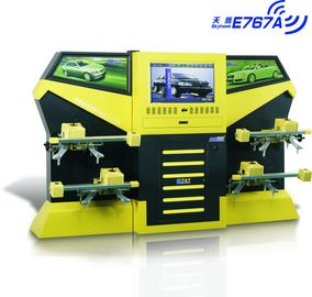 E767A Yellow CCD 3excel Wheel Aligner , Automotive Four Wheel Tire Alignment Computerized
