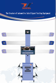 China Automatic 3D Wheel Aligner Machine Tire Balancing With Multi Languages Database distributor